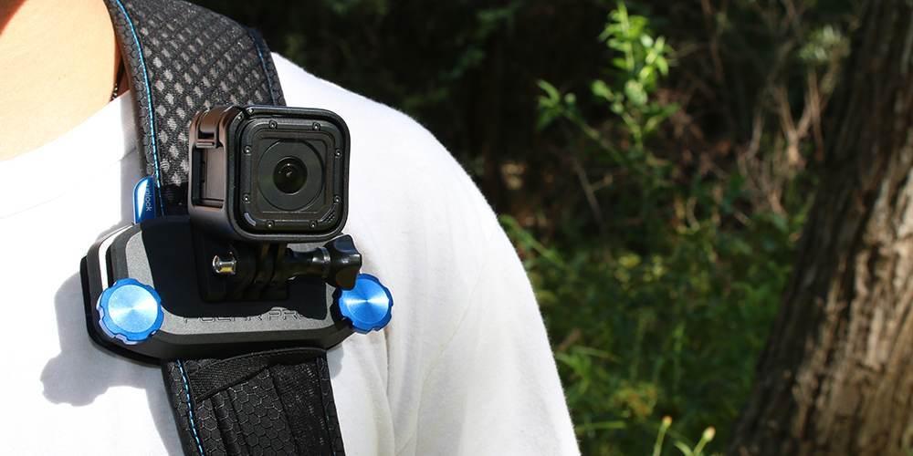 Крепление на стропы PolarPro Strap Mount на плече