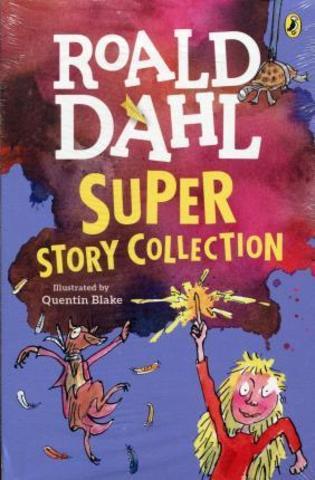 Roald Dahl Super Story Collection Slipcase : Pakiet