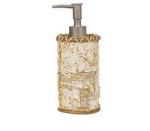 Дозатор для жидкого мыла Blonder Home Birch Bark by Woolrich
