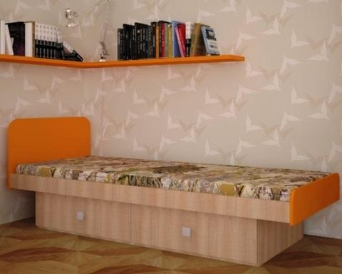 Кровать БАРБАТЕ клён