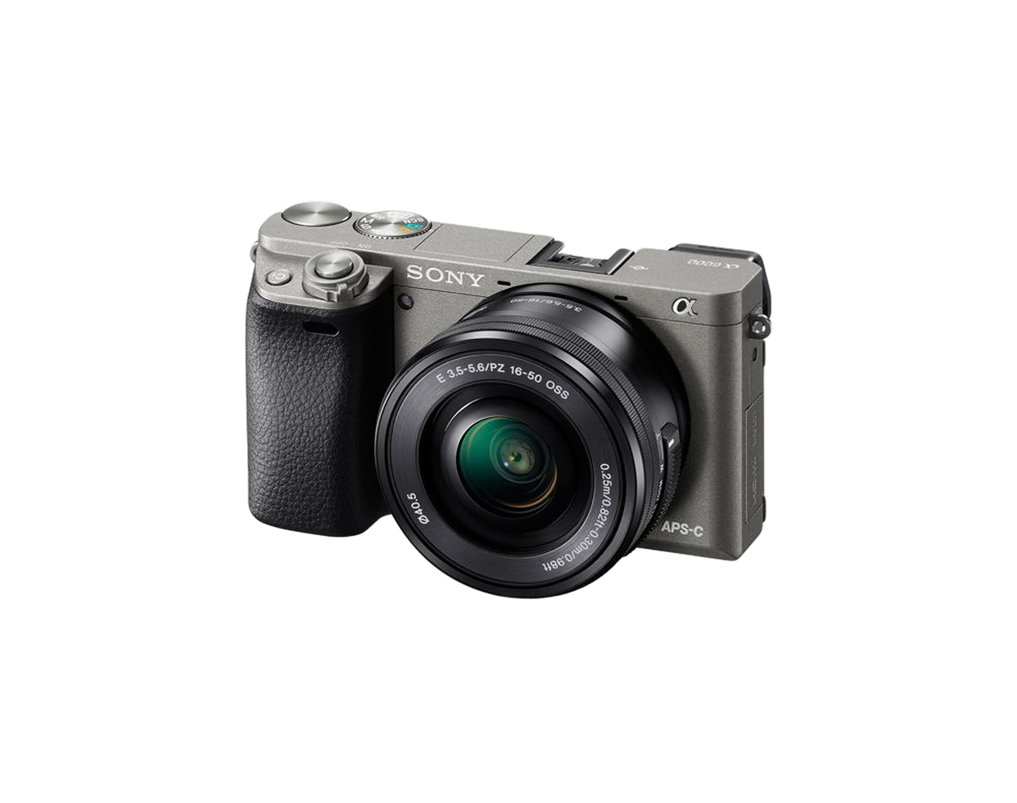 Фотокамера Sony  Alpha ILCE-6000LH, цвет графитовый