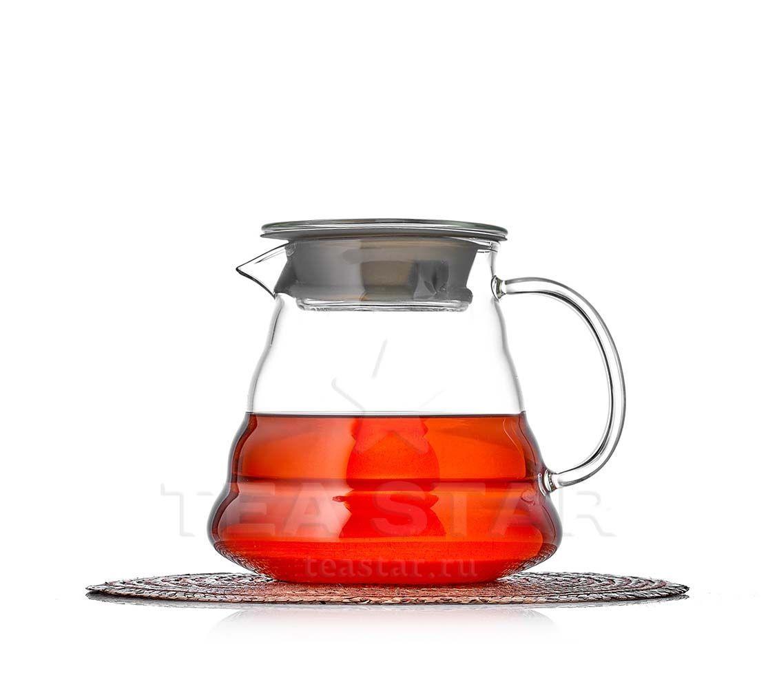 Заварочные стеклянные чайники Чайник-кофейник aka Hario, стеклянный, 650 мл Hario_coffe_Tama_chaynik_650ml.jpg