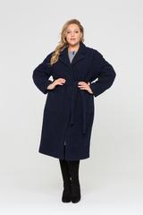 Пальто Сольвейга темно-синий