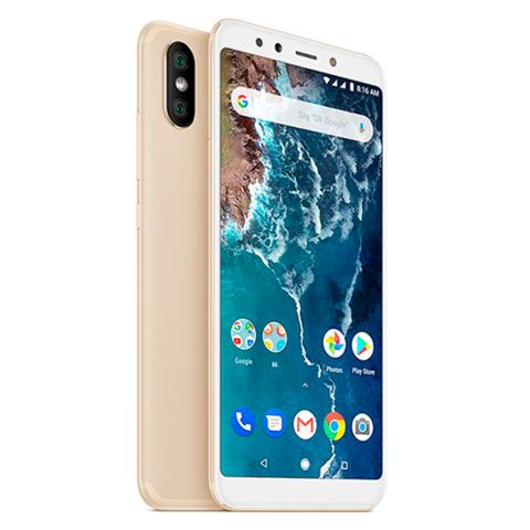 Смартфон Xiaomi Mi A2 6GB + 128GB (золотой)