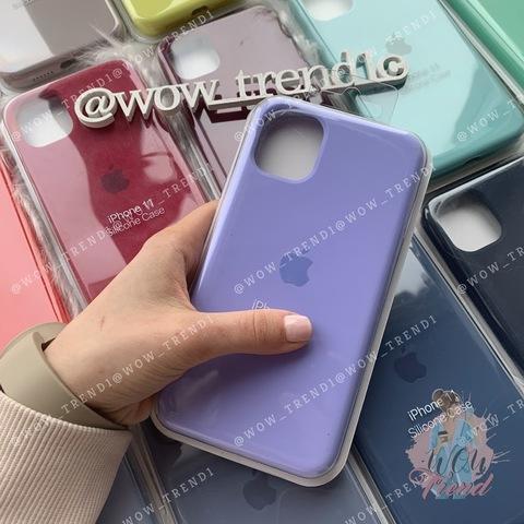 Чехол iPhone 11 Pro Silicone Case Full /glycine/