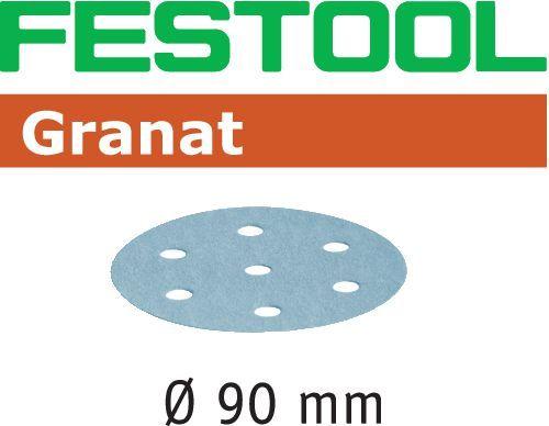 Шлифовальные круги STF D90/6 Granat Festool