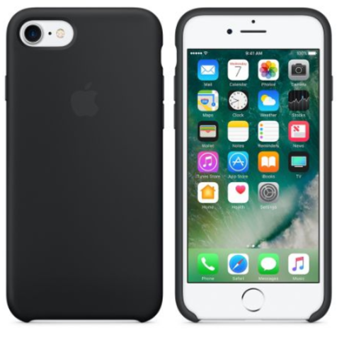 iPhone 7/8 Silicone Case Черный