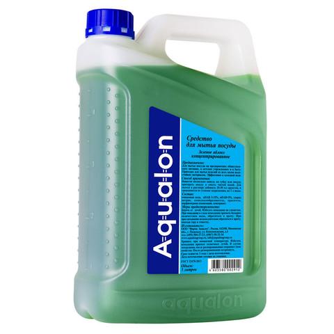 Средство для мытья посуды AQUALON 5л яблоко концентрат