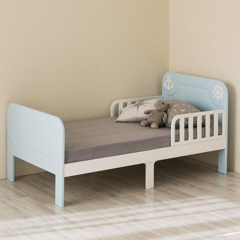 Кровать подростковая Феалта-baby Море, голубая