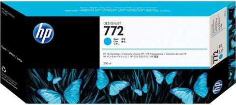Картридж HP CN636A (№772) голубой 300 мл.