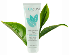 Heliabrine Гоммаж для тела Heliaslim Целебный чай Heliaslim Body Scrub with 3 Teas 250 мл