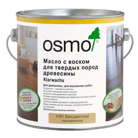 Масло для твердых пород древесины OSMO  Klarwachs