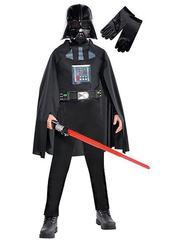 Детский костюм Дарта Вейдера со световым мечом и светящейся маской Deluxe