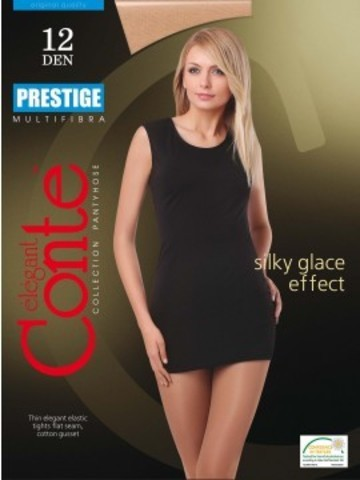 Conte Prestige Колготки женские 12d, p.4 natural