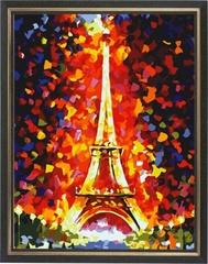 Эйфелева башня - картина со стразами, CK076