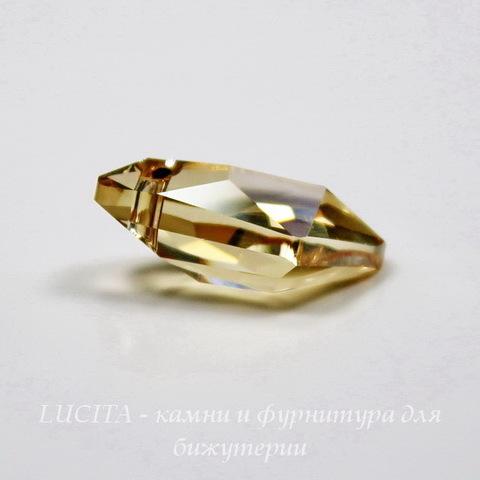 6656 Подвеска Сваровски Galactic Vertical Crystal Golden Shadow (19 мм) ()