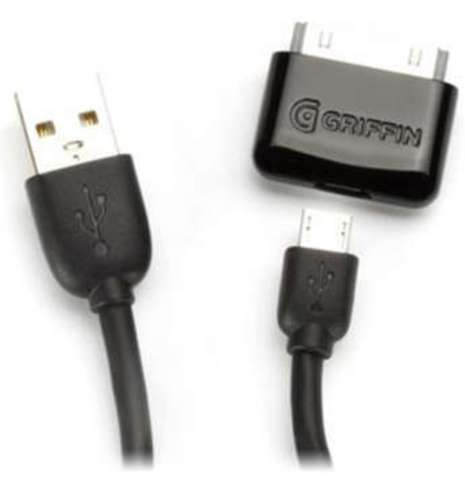 Griffin Charge&Sync Cable Kit (GC17117) - кабель синхронизации и зарядки для iPhone/iPod/iPad
