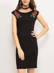 GDR010626 Платье женское. черное