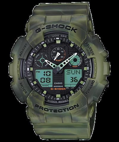 Купить Наручные часы Casio GA-100MM-3ADR по доступной цене