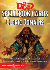 D&D Next: Spellbook Cards (Cleric Domains)