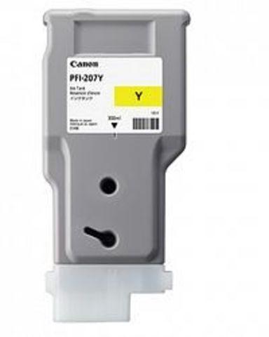 Картридж Canon PFI-207Y yellow (желтый) для imagePROGRAF 680/685/780/785