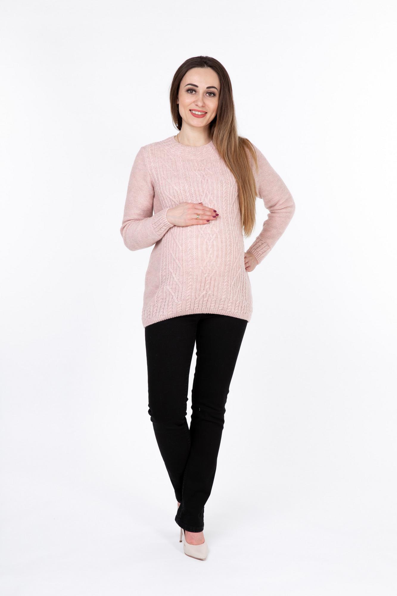 Свитер 09906 розовый   Магазин для беременных и кормящих мам ... fc9468c98d2