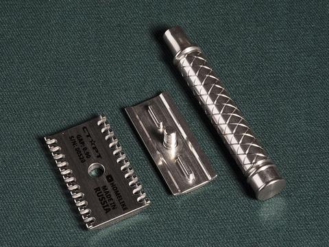 Станок для бритья Старт GAP 0.9 открытая голова полировка
