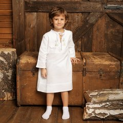 Крестильная рубашка с вышивкой  для крещения и купания