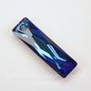 6465 Подвеска Сваровски Queen Baguette Crystal Bermuda Blue (25х7 мм)