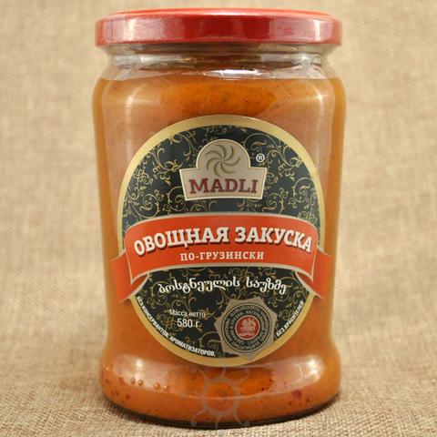 Закуска овощная по-грузински Мадли, 580г