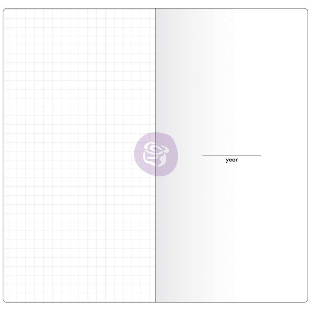 Внутренний блок для блокнотов -Prima Traveler's Journal Notebook Refill - Daily W/White Paper