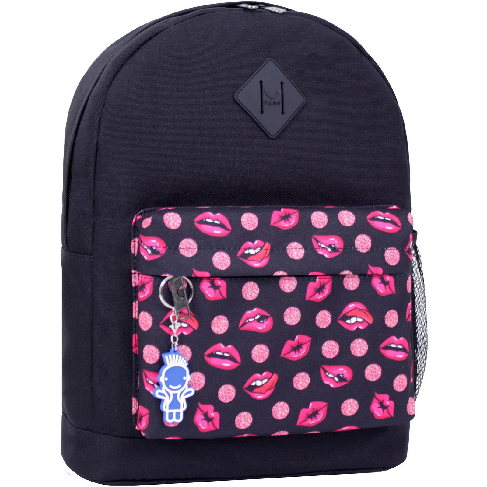 Городские рюкзаки Рюкзак Bagland Молодежный W/R 17 л. черный 487 (00533662) IMG_2387_суб.487_.JPG
