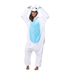 Кигуруми Единорог бело-голубой