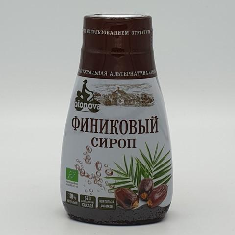 Финиковый сироп органический сахарозаменитель BIONOVA, 230 гр
