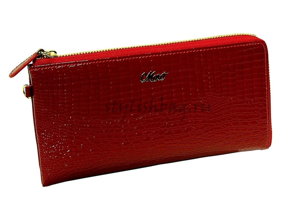 b16c95f11ef9 Купить женский кошелек клатч Moro Jenny 59050 red красный ...