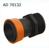 "AD 70132 Старт для ленты Туман(GS) 32 мм с наружной резьбой 1"""