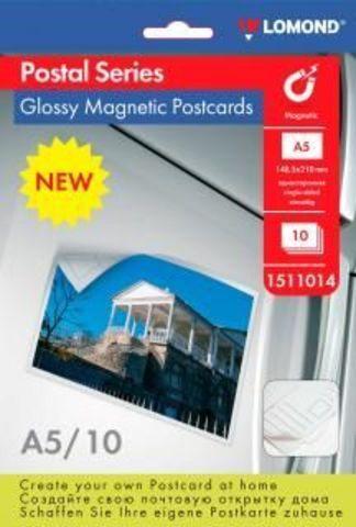 Бумага Lomond Glossy Magnetic Postcards A5 (1511014)