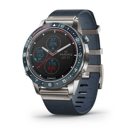 Купить Люксовые мультиспортивные часы Garmin MARQ Captain (010-02006-07) по доступной цене