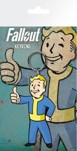 Брелок силиконовый Fallout
