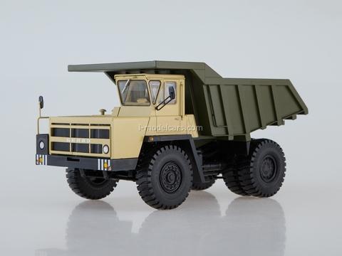 BELAZ-7522 Dump truck late beige-khaki 1:43 Dealer models BELAZ