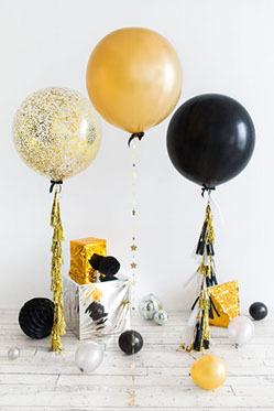 Большой шар с гелием 90 см. Выбор цвета (фото 3)