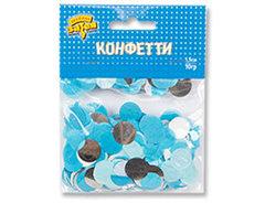 Конфетти Круги тишью,фол Сереб/Гол 10грG