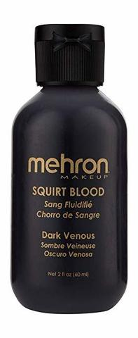 MEHRON Искусственная кровь для брызг Squirt Blood- Dark Venous (темная венозная), 50 мл
