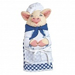 Прихватка-рукавица Boston Warehouse Chef Pig