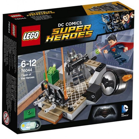 LEGO Super Heroes: Битва супергероев 76044 — Clash of the Heroes — Лего Супергерои ДиСи