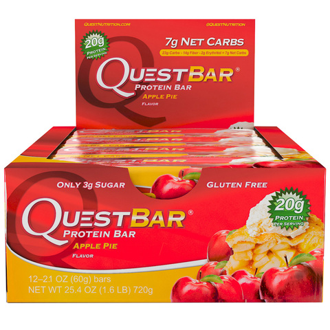 Quest Nutrition Quest Protein Bar Apple pie (яблочный пирог)