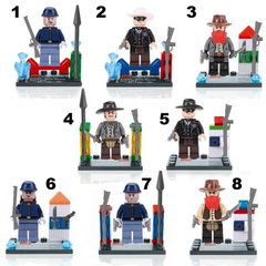 Minifigures Lone Ranger Blocks Building