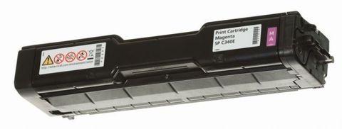 Принт-картридж тип SPC340E для Ricoh SPC340, пурпурный. Ресурс 3800 стр (407901)
