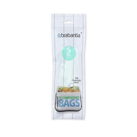 Биоразлагаемые мешки для мусора PerfectFit, размер S (6 л), 10 шт., арт. 419683 - фото 1