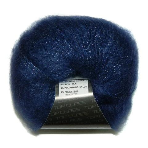 Пряжа Lana Gatto Silk Mohair Lux 6035 синий